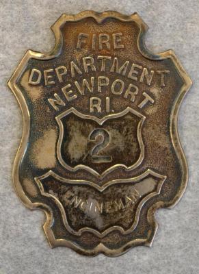 Badge, Fire