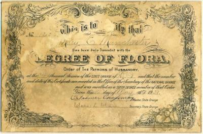 Certificate, Achievement