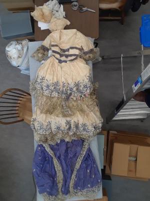 Polonaise-Style Fancy Dress