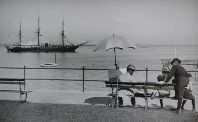 Photograph of Edward Mitchell Bannister at Battery Park